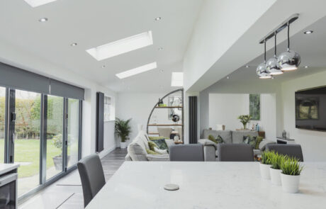 Full rear house extension in Surrey