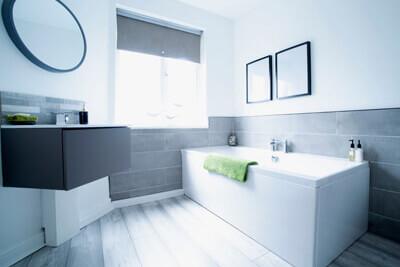 Bathroom rebuild Surrey